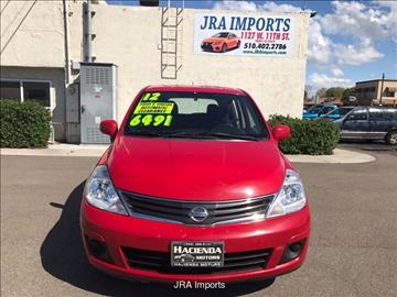 2012 Nissan Versa for sale in Tracy, CA