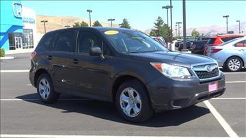 2014 Subaru Forester for sale in Carson City, NV