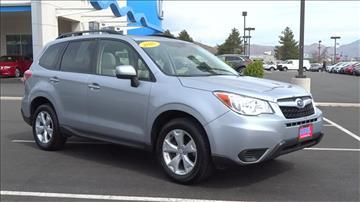 2016 Subaru Forester for sale in Carson City, NV