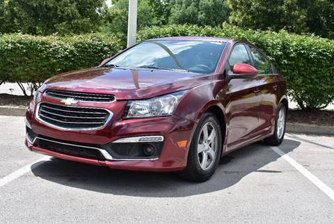 2015 Chevrolet Cruze for sale at Hadi Auto Sales in Lexington KY