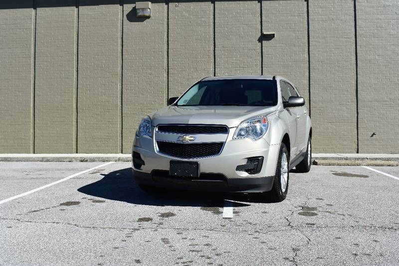 2011 Chevrolet Equinox for sale at Hadi Auto Sales in Lexington KY