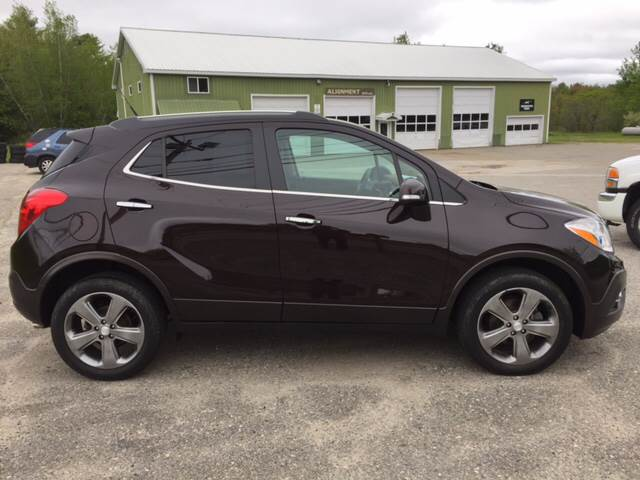 2014 Buick Encore AWD Leather 4dr Crossover - Lewiston ME