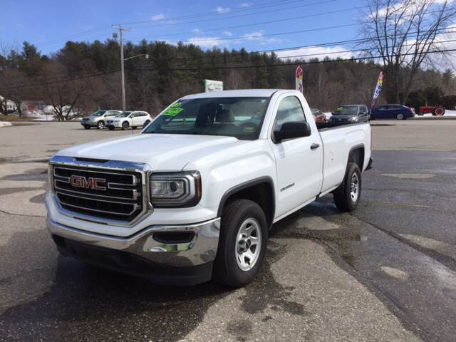 2016 GMC Sierra 1500 4x2 2dr Regular Cab 8 ft. LB - Lewiston ME