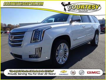 2017 Cadillac Escalade ESV for sale in Kingsport, TN