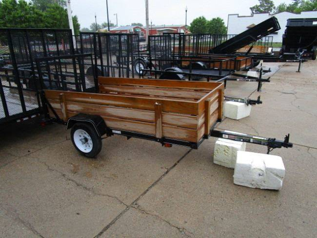 D And D Trailers >> 1 Custom 4x8 Trailer In Carter Lake Ia D And R Auto Sales