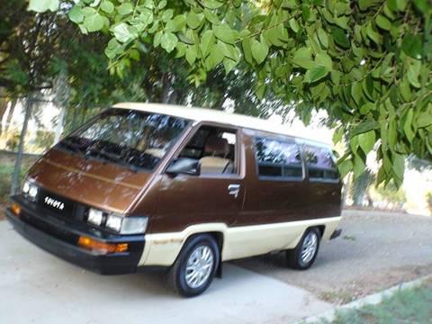 1988 Toyota Van for sale in Riverside, CA