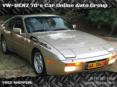 1986 Porsche 944 for sale in E-Commerce By Free Shipping, CA