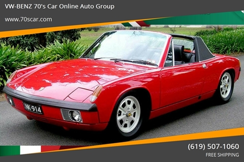 1972 Porsche 914 for sale in E-Commerce By Free Shipping, CA