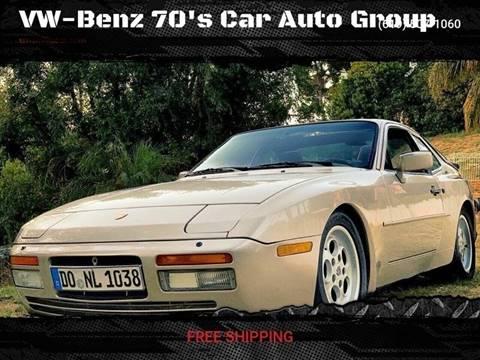 1986 Porsche 944 For Sale In Corona Warehouse Ca