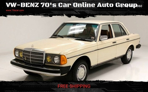 1981 Mercedes-Benz 240-Class for sale in Online Warehouse Free Shipping, CA