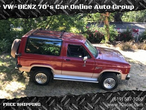 1988 Ford Bronco II for sale in Online Warehouse Free Shipping, CA