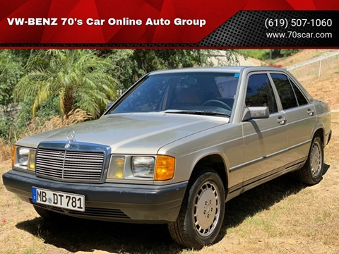 1986 Mercedes-Benz 190-Class for sale in Online Warehouse Free Shipping, CA