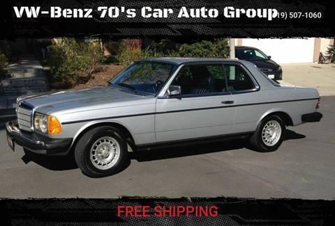 1984 Mercedes-Benz 300-Class for sale in Corona Warehouse, CA