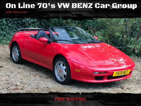 1991 Lotus Elise for sale at On Line 70's VW BENZ Car Group in Warehouse CA