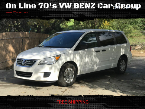 2012 Volkswagen Routan for sale at On Line VW BENZ 70'sCar Group in Warehouse CA