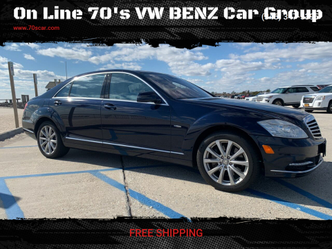 2012 Mercedes-Benz S-Class S 350 BlueTEC 4MATIC for sale at On Line 70's VW BENZ Car Group in Warehouse CA