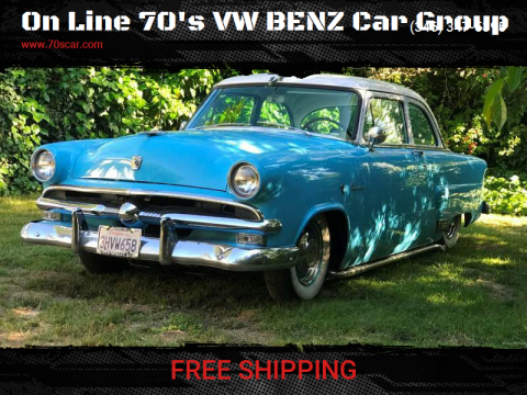 1953 Ford MainLine for sale at On Line 70's VW BENZ Car Group in Warehouse CA