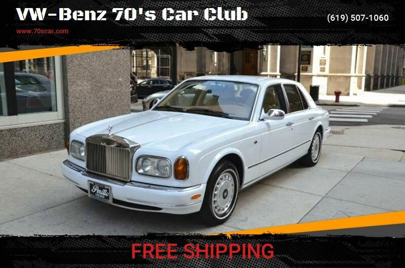 1999 Rolls-Royce Silver Seraph for sale at On Line VW BENZ 70'sCar Group in Warehouse CA