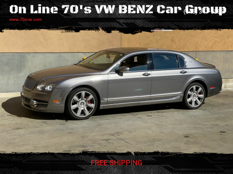 2006 Bentley Continental Flying Spur for sale at On Line 70's VW BENZ Car Group in Warehouse CA