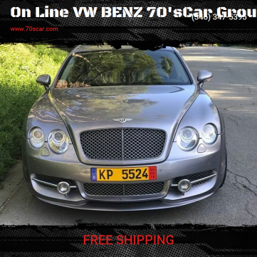 2006 Bentley Continental for sale at On Line VW BENZ 70'sCar Group in Warehouse CA