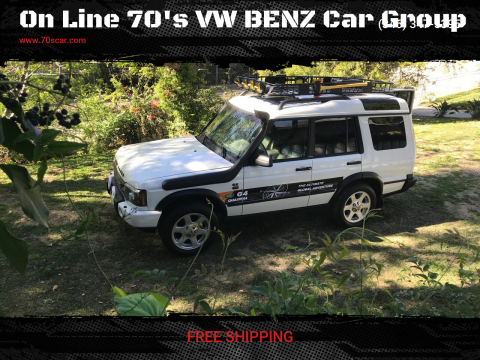 2004 Land Rover Discovery SE for sale at On Line 70's VW BENZ Car Group in Warehouse CA