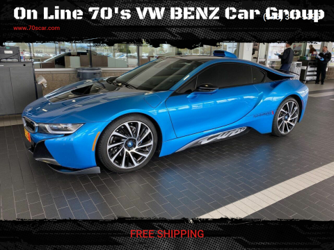 2015 BMW i8 for sale at On Line 70's VW BENZ Car Group in Warehouse CA