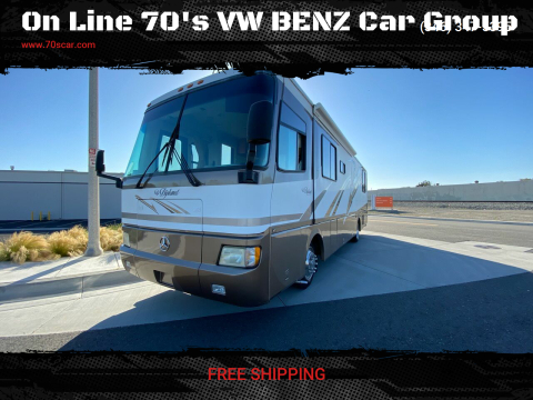 2000 Monaco Class-A Diplomat for sale at On Line 70's VW BENZ Car Group in Warehouse CA