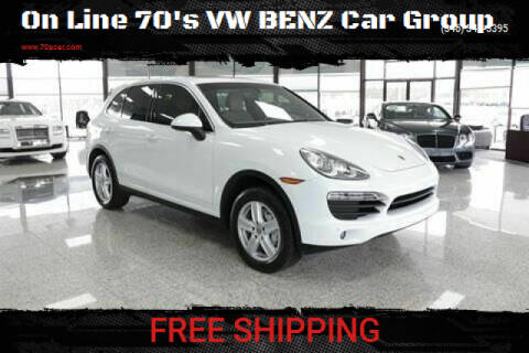 2012 Porsche Cayenne Tiptronic for sale at On Line 70's VW BENZ Car Group in Warehouse CA