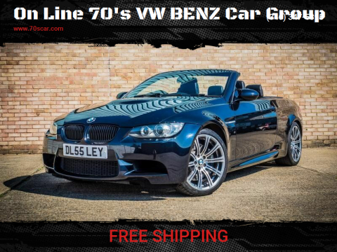 2008 BMW M3 for sale at On Line 70's VW BENZ Car Group in Warehouse CA