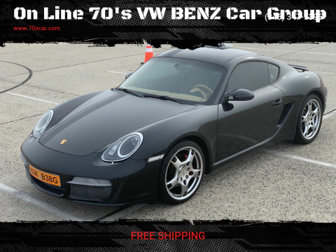 2008 Porsche Cayman for sale at On Line VW BENZ 70'sCar Group in Warehouse CA
