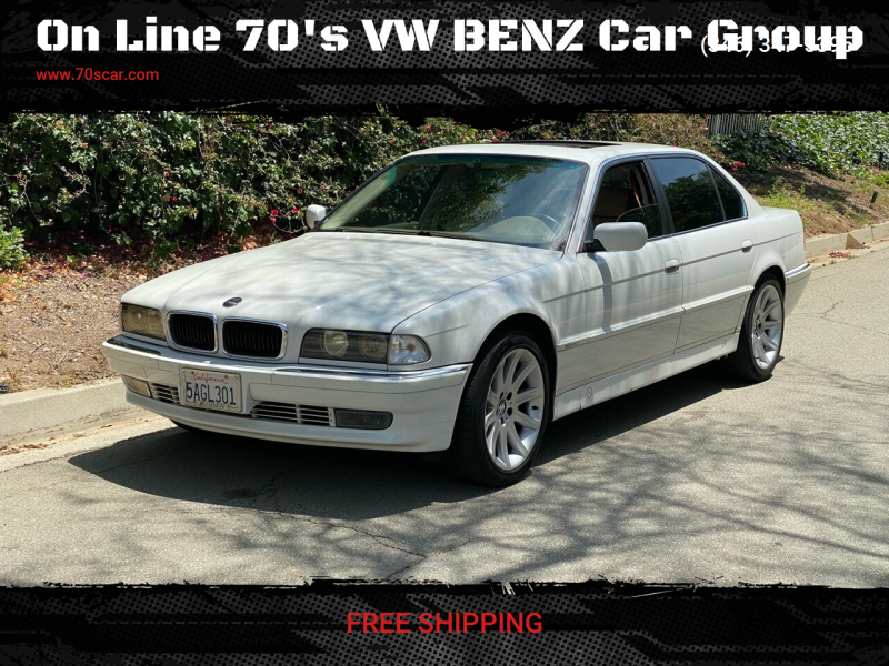 1998 BMW 7 Series for sale at On Line VW BENZ 70'sCar Group in Warehouse CA