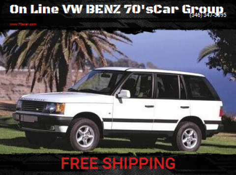 2000 Land Rover Range Rover for sale at On Line VW BENZ 70'sCar Group in Warehouse CA