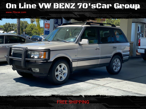2001 Land Rover Range Rover for sale at On Line VW BENZ 70'sCar Group in Warehouse CA