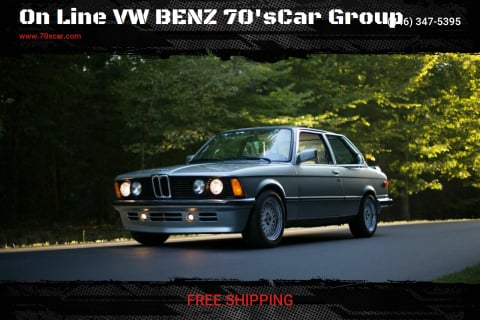 1983 BMW 3 Series for sale at On Line VW BENZ 70'sCar Group in Warehouse CA