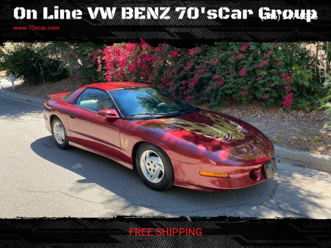 1994 Pontiac Firebird for sale at On Line VW BENZ 70'sCar Group in Warehouse CA