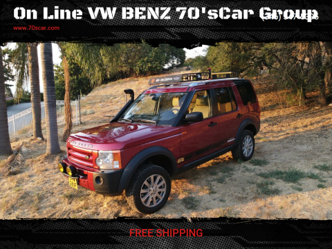 2008 Land Rover LR3 for sale at On Line VW BENZ 70'sCar Group in Warehouse CA