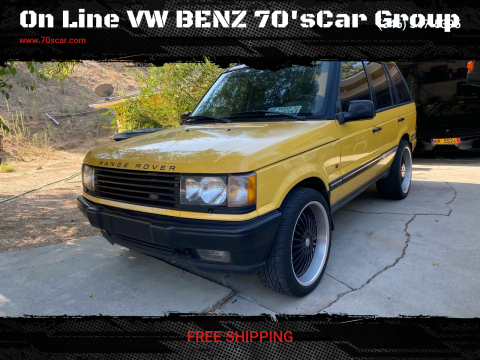 2002 Land Rover Range Rover for sale at On Line VW BENZ 70'sCar Group in Warehouse CA