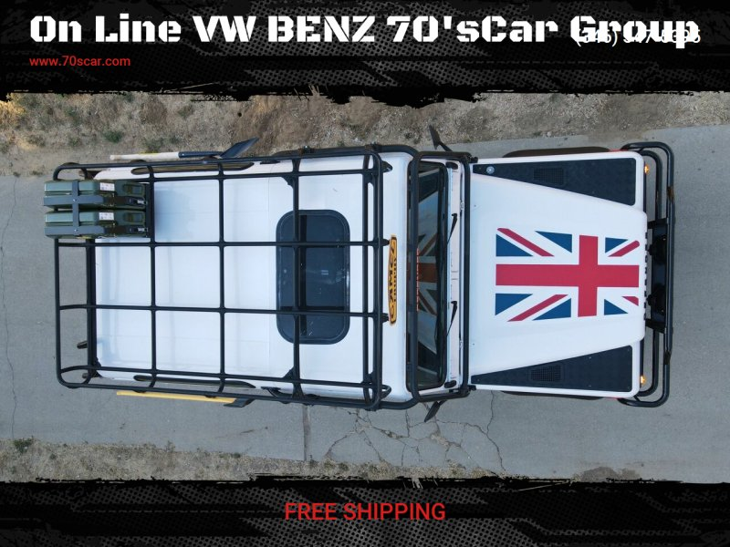 1997 Land Rover Defender for sale at On Line VW BENZ 70'sCar Group in Warehouse CA