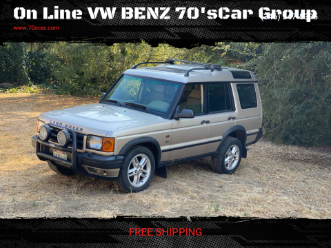 2002 Land Rover Discovery Series II for sale at On Line VW BENZ 70'sCar Group in Warehouse CA