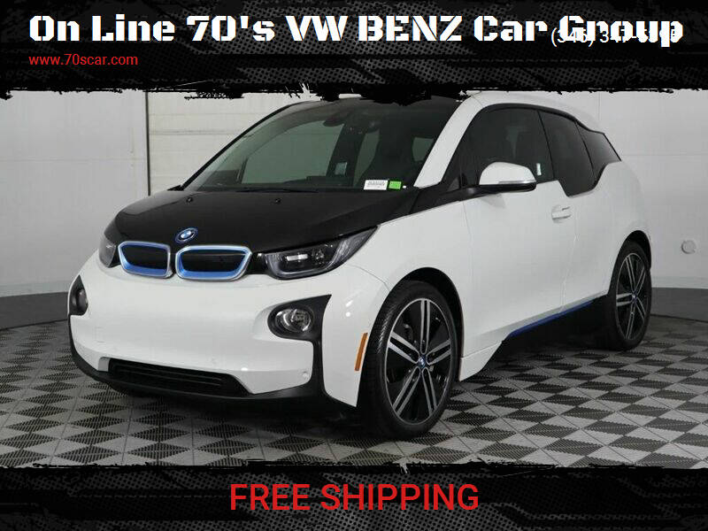 2014 BMW i3 for sale at On Line VW BENZ 70'sCar Group in Warehouse CA