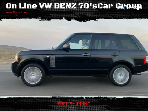 2011 Land Rover Range Rover for sale at On Line VW BENZ 70'sCar Group in Warehouse CA