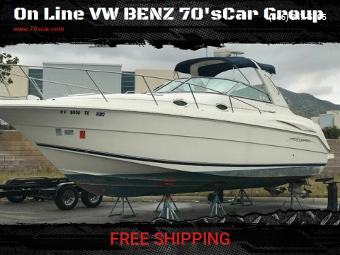 2000 Cruiser Yachts Express 32 for sale at On Line VW BENZ 70'sCar Group in Warehouse CA