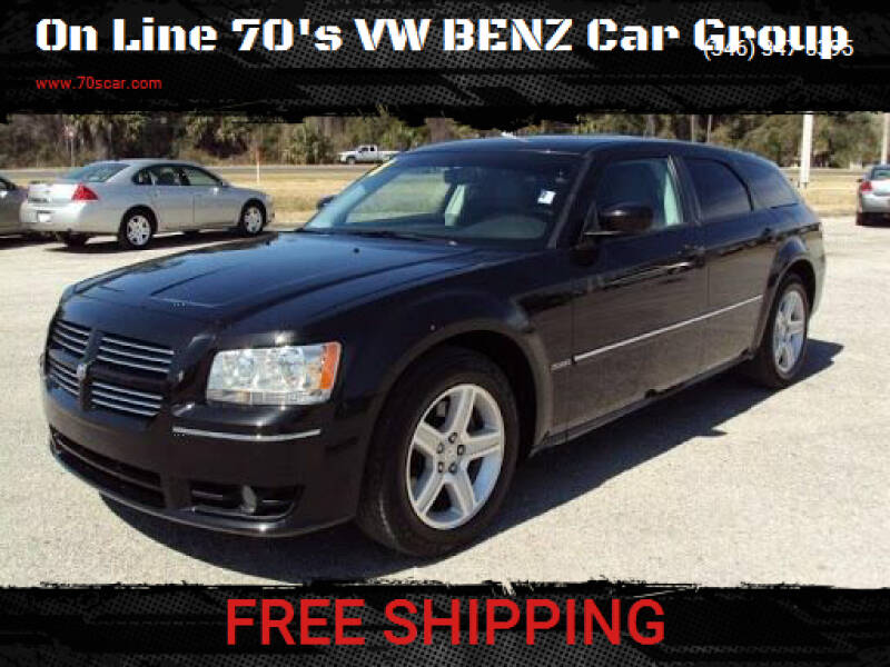2008 Dodge Magnum for sale at On Line VW BENZ 70'sCar Group in Warehouse CA