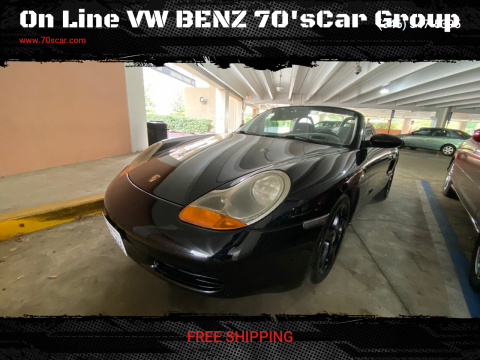 2000 Porsche Boxster for sale at On Line VW BENZ 70'sCar Group in Warehouse CA