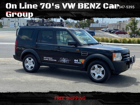 2006 Land Rover LR3 for sale at On Line VW BENZ 70'sCar Group in Warehouse CA