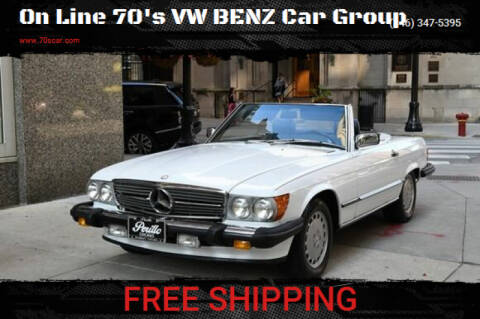 1987 Mercedes-Benz 560-Class for sale at On Line VW BENZ 70'sCar Group in Warehouse CA