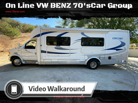 2004 Coachmen Concord for sale at On Line VW BENZ 70'sCar Group in Warehouse CA
