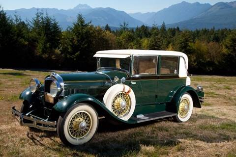 1929 Hudson Victoria