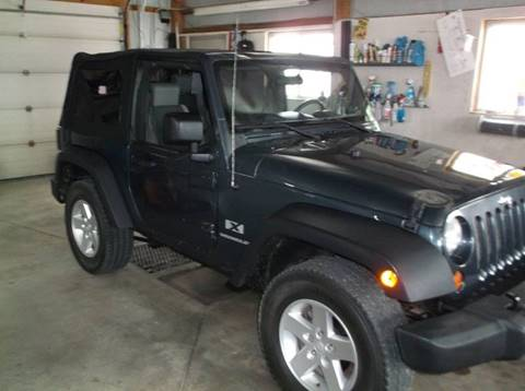 2007 Jeep Wrangler for sale at Yellow Brick Road Auto Sales in Larned KS