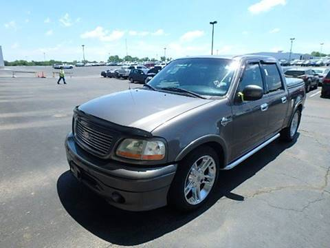 2002 Ford F-150 for sale at Yellow Brick Road Auto Sales in Larned KS